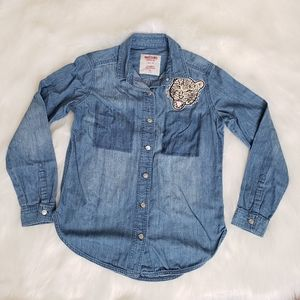 Mossimo Boyfriend Fit Jean Shirt